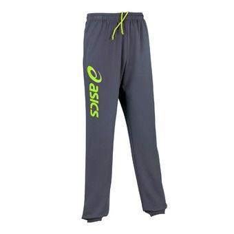 Pantalón de chándal hombre SIGMA antracite / neon lime