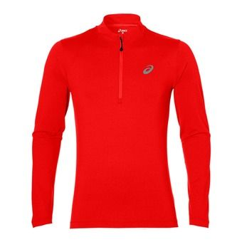 Maillot ML homme L2 fiery red heather