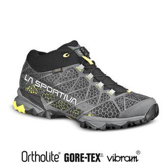 Zapatillas de senderismo hombre SIVERETTA dark grey/green