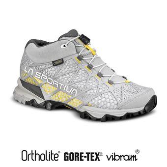 Zapatillas de senderismo mujer SYNTHESIS MID GTX grey/yellow