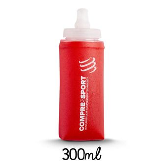 Botellín 300ml ERGO FLASK rojo
