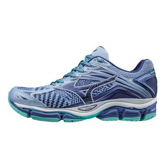 Chaussures running femme ENIGMA 6 brun blue/maz blue /turquoise