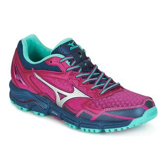 Chaussures trail femme WAVE DAICHI 2 fushia red/silver/turquoise