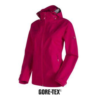 Veste à capuche femme Gore-Tex® 3L RUNBOLD PRO HS magenta