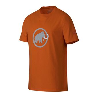 Camiseta hombre MAMMUT LOGO dark orange