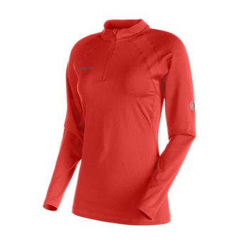Maillot ML femme MTR 141 ZIP barberry