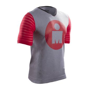 Maillot MC homme TRAINING IRONMAN 17 grey/red
