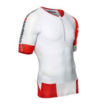 Camiseta de compresión hombre TR3 AERO IRONMAN 17 white