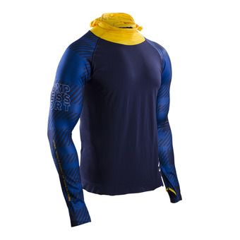 Camiseta hombre ULTRA TRAIL RACING UTMB 17 blue
