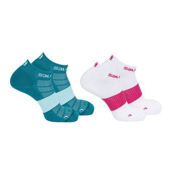 Pack de 2 pares de calcetines hombre SENSE 2P white/enamel