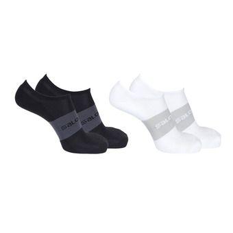 Pack de 2 pares de calcetines hombre SONIC 2P black/white