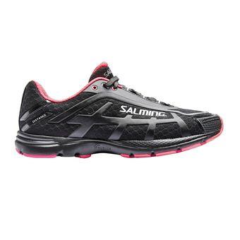 Zapatillas running mujer DISTANCE D4 negro/rosa