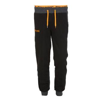 Pantalón de chándal hombre STREET negro/antracita jaspeado