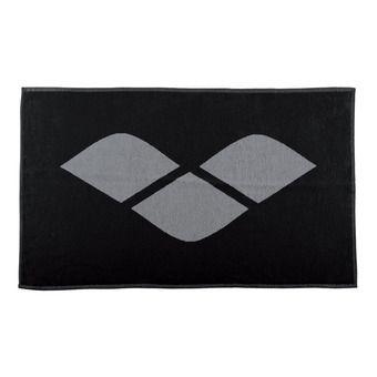 Serviette éponge HICCUP black/grey
