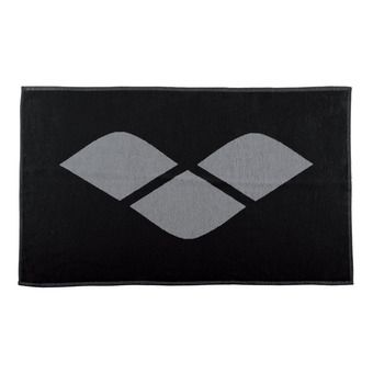 Toalla de felpa HICCUP black/grey
