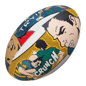 Balón de rugby RANDOMS CRUNCH T.5 multicolor