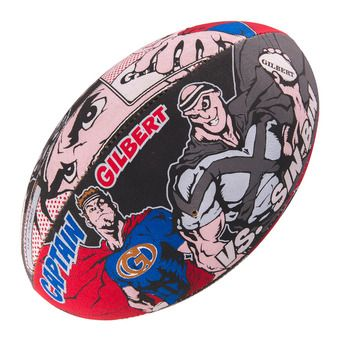 Ballon rugby RANDOMS SUPERHERO T.5 multi
