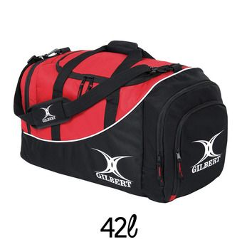 Sac de sport 42L JOUEUR CLUB V2 M noir/rouge