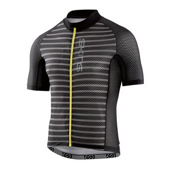 Maillot MC homme CYCLE LOVECATS X-LIGHT black/pewter stripe