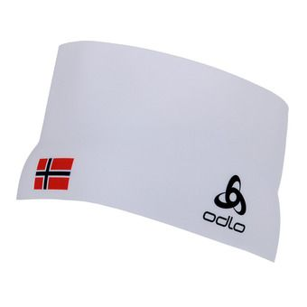 Bandeau COMPETITION TEAM white/norwegian flag