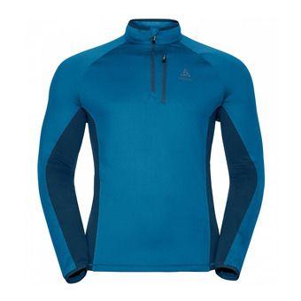 Sweat 1/2 zip homme PROCHUTE mykonos blue/blue opal