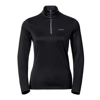 Sweat 1/2 zip femme HARBIN black