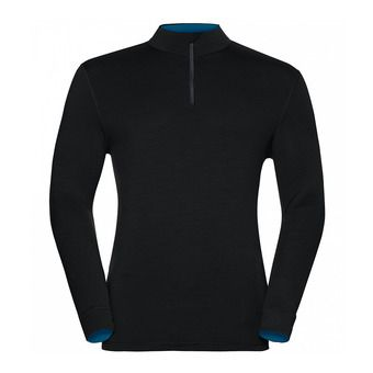 Camiseta hombre REVOLUTION WARM black/mykonos blue