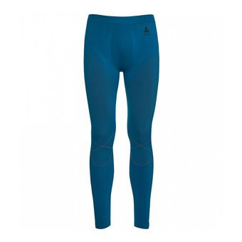 Collant homme EVOLUTION WARM mykonos blue/orangeade