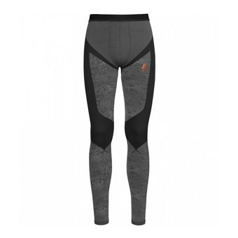Mallas hombre BLACKCOMB EVOLUTION WARM black/odlo concrete grey/orangeade