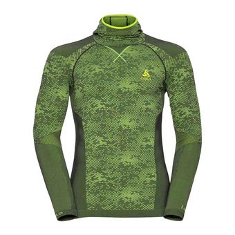 Camiseta térmica hombre BC EVOLUTION WARM odlo graphite grey/safety yellow