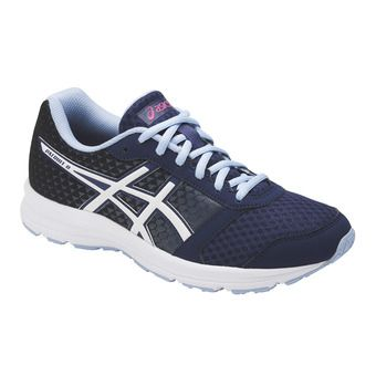 Chaussures running femme PATRIOT 8 indigo blue/white/fuchsia purple