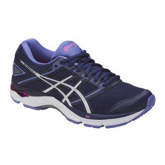 Chaussures running femme GEL-PHOENIX 8 indigo blue/silver/pink glow