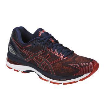 Chaussures running homme GEL-NIMBUS 19 peacoat/red clay/peacoat