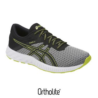 Zapatillas de running hombre FUZEX LYTE 2 m111 grey/black/energy green