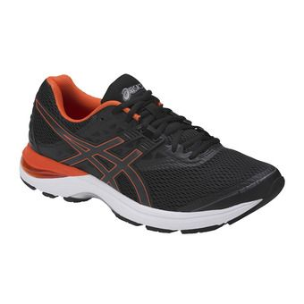 Chaussures running homme GEL-PULSE 9 black/cherry tomato/carbon