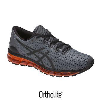 Chaussures running homme GEL-QUANTUM 360 SHIFT carbon/black/hot orange