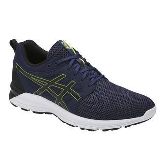Chaussures running homme GEL-TORRANCE indigo blue/black/energy green