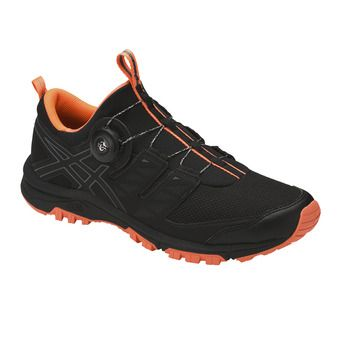 Chaussures trail homme GEL-FUJIRADO black/carbon/hot orange