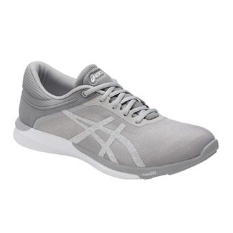 Chaussures running femme FUZEX RUSH white/silver/m111 grey