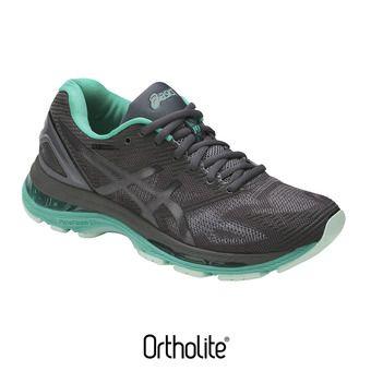 Chaussures running femme GEL-NIMBUS 19 LITE-SHOW dark grey/black/reflective