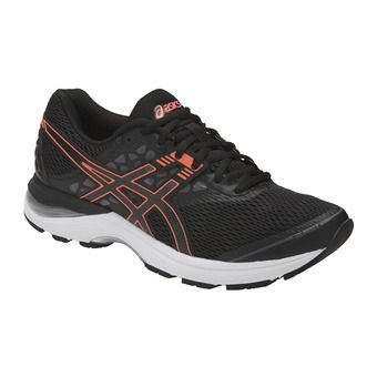 Zapatillas de running mujer GEL-PULSE 9 black/flash coral/carbon