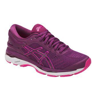 Chaussures running femme GEL-KAYANO 24 prune/pink glow/white