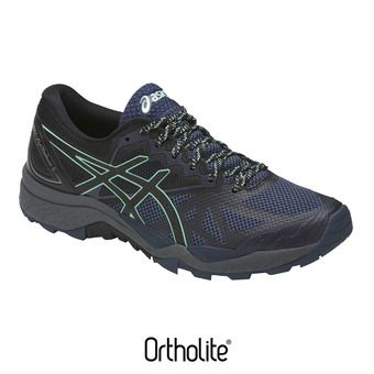 Chaussures trail femme GEL-FUJITRACUBO 6 insignia blue/black/ice green