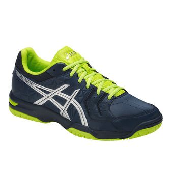 Chaussures handball homme GEL-SQUAD insignia blue/silver/energy green