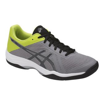 Zapatillas de voleibol hombre GEL-TACTIC aluminum/dark grey/energy green