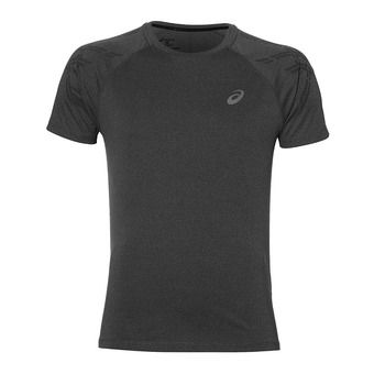 Maillot MC homme STRIPE dark grey heather/performance black
