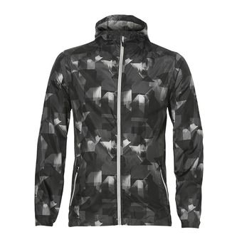Veste homme FUZEX PACKABLE paint geo dark grey