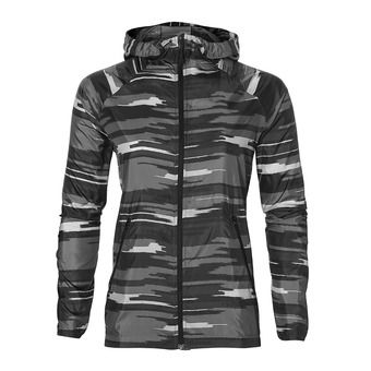 Veste femme FUZEX PACKABLE impulse dark grey