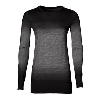 Camiseta mujer FUZEX SEAMLESS performance black