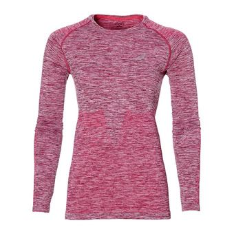 Maillot ML femme L2 SEAMLESS cosmo pink